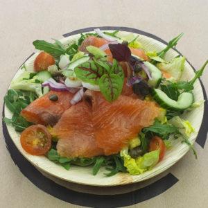 Noorse zalm salade
