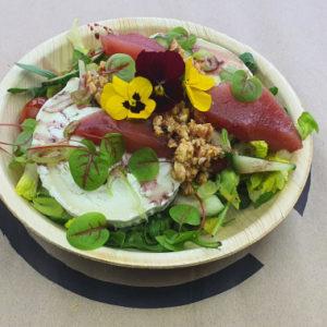 Fromage de chevre salade